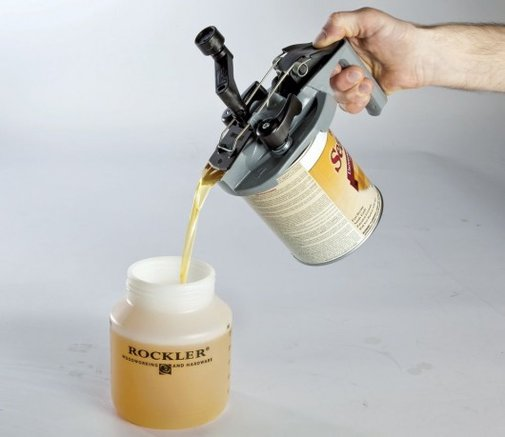 Mixing Mate stirs and pours paint without any mess