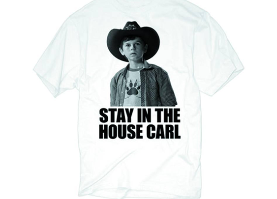 Carl seriously, dont go anywhere.
