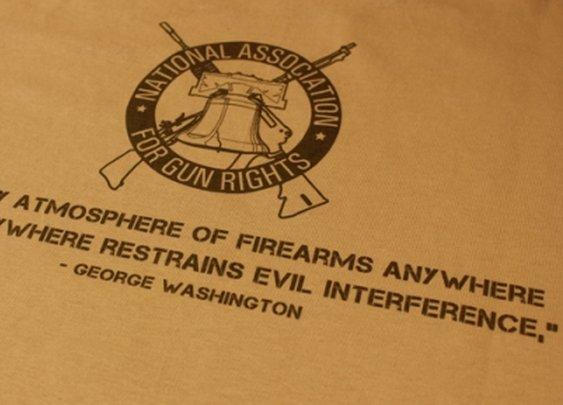 National Association for Gun Rights--George Washington