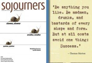 Rethinking Success - Bob Sabath | Sojourners Magazine - December 2012