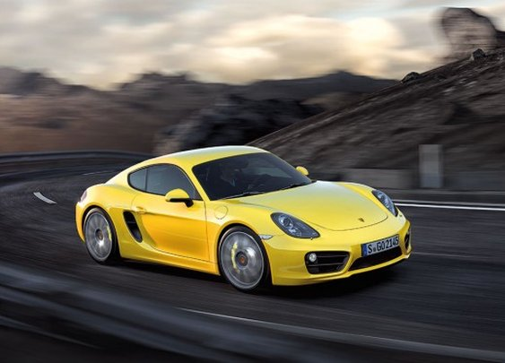 Porsche unveils the new, more powerful Cayman