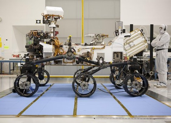 NASA plans 2020 Mars rover remake