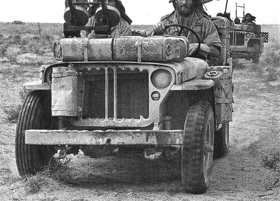 Jeeps and Beards, 1941 SAS.  Read the description & imagine.