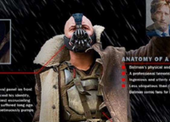 What would it take to be Bane? A Dark Knight Rises infographic