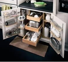 kitchen storage   cabinet organizer   DIY kitchen design