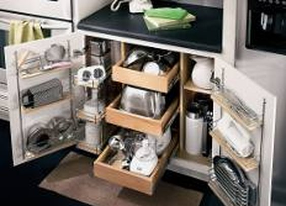 kitchen storage | cabinet organizer | DIY kitchen design