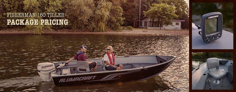 Alumacraft Fisherman 160 Tiller