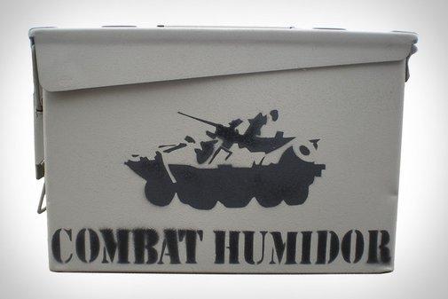 Combat Humidor | Uncrate