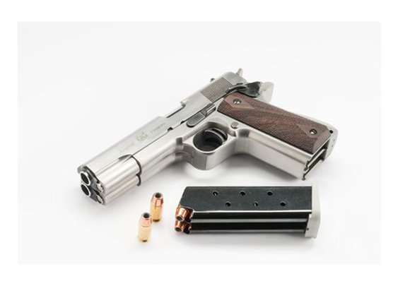 Arsenal Firearms Double Barrel .45 — The Man's Man