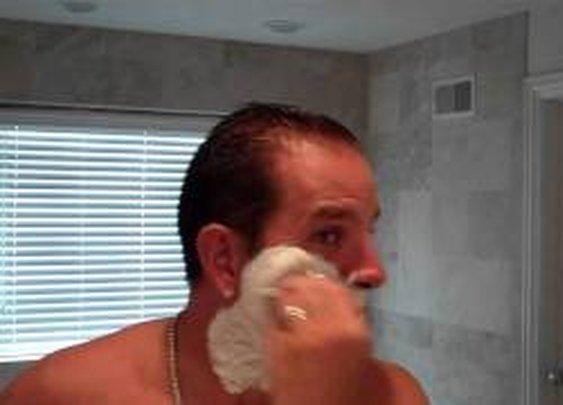 BEST SHAVE PREP For Shaving w Straight, Safety, Fusion, Hydro, Razor, Badger Brush, Cream, Soap - YouTube