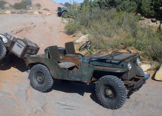 1953 CJ3A with Custom Trailer - GradeMyJeep.com - Top 100 Jeeps