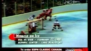 US 1980 Olympic Hockey - Do You Believe In Miracles?  Yes! - YouTube