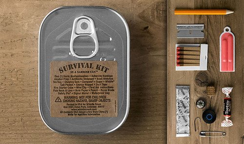 Sardine Can Survival Kit — The Man's Man