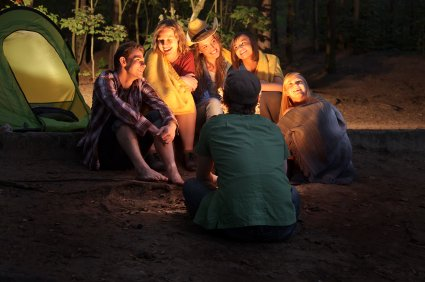 Tips on telling campfire stories