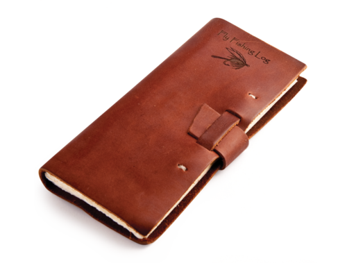 Fly Fishing Leather Log Book — The Man's Man