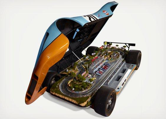 The Porsche 917 Le Mans Raceway | Cool Material