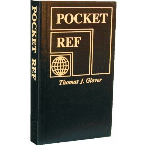 Pocket Ref 4th Edition by Thomas Glover