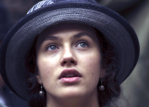 Sybil Crawley from Downton Abbey played by Jessica Brown Findlay