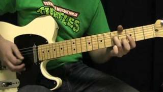Guitar Lesson - Fortunate Son by Creedence Clearwater Revival