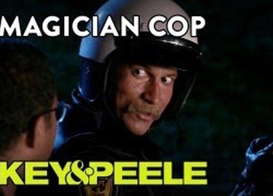 Key & Peele: Magician Cop - YouTube
