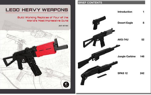 Lego Heavy Weapons Book — The Man's Man