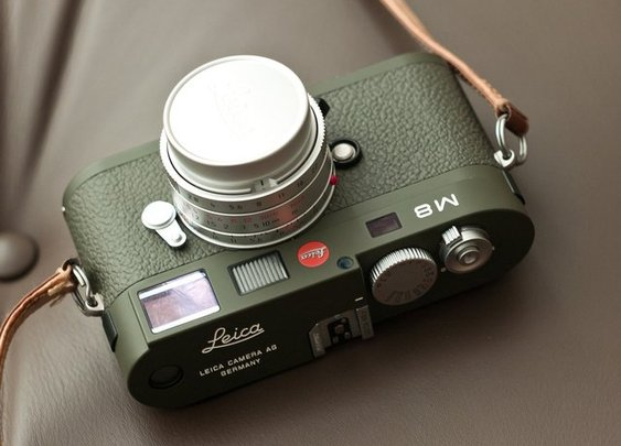 Leica M8.2 Safari Edition
