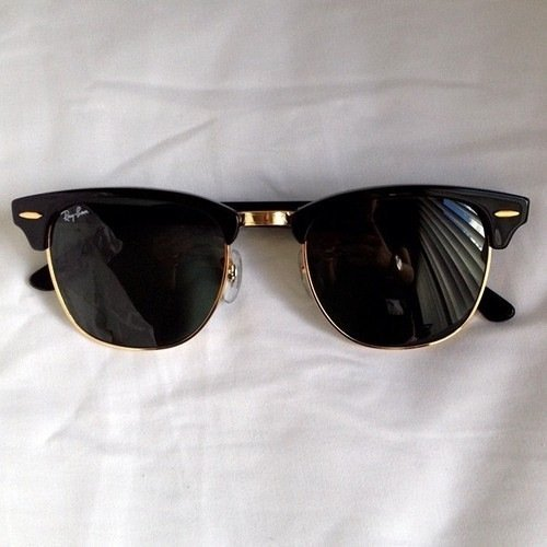 Fancy - Ray-Ban Black Clubmaster Sunglasses