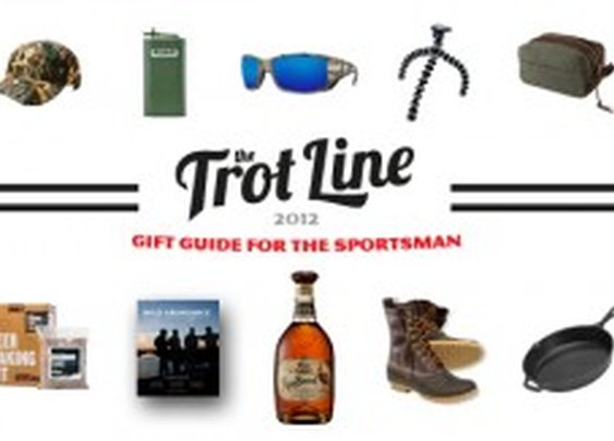 Holiday Gift Guide For The Sportsman | Guy Gift Ideas | The Trot Line