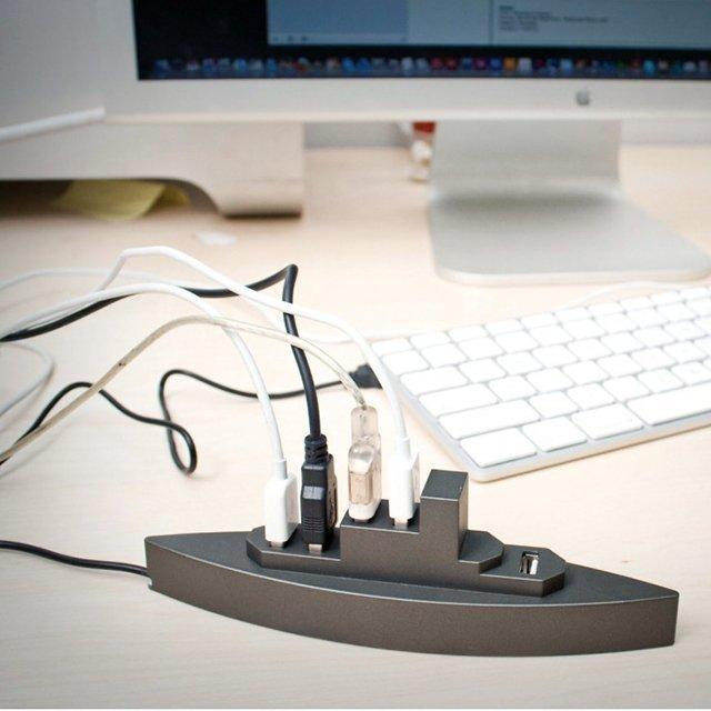 Fancy - Battleship USB Hub