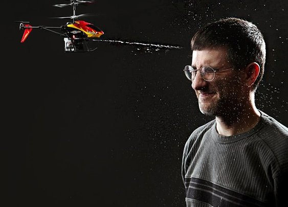 Bladez Water Blaster RC Helicopter