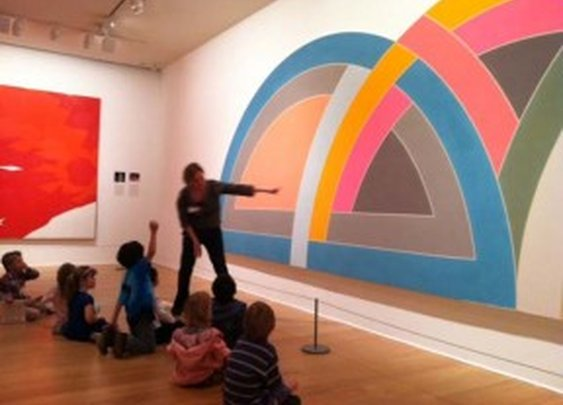 Great article on how to get your kids to enjoy art.