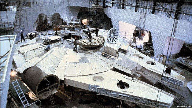 Filming the Millenium Falcon
