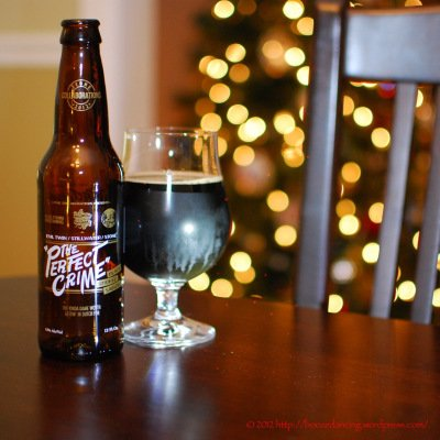 "Beer Review – Evil Twin/Stillwater/Stone ""The Perfect Crime"" Black Smoked Saison « It's just the booze dancing…"