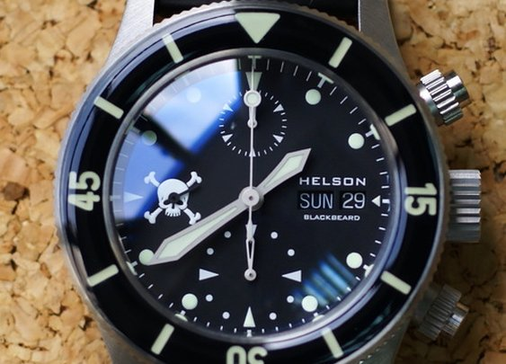 Helson Blackbeard Chrono — The Man's Man