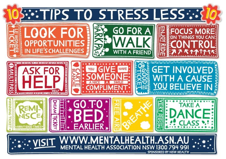 The Top Ten Anti Stress Tips