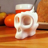 Monkey Skull Egg Cup