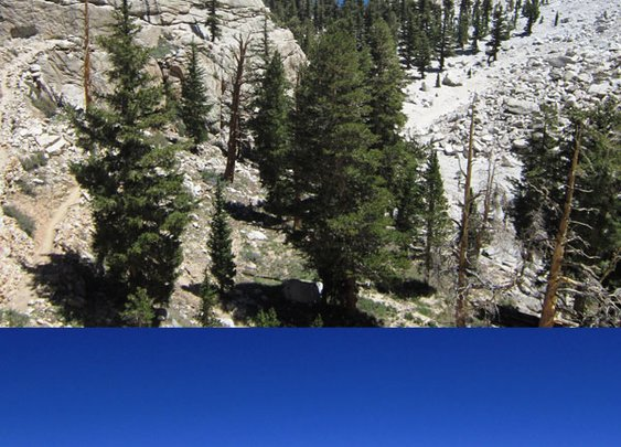 Mt Whitney Hike Infographic and Photo Collection of the whole hike