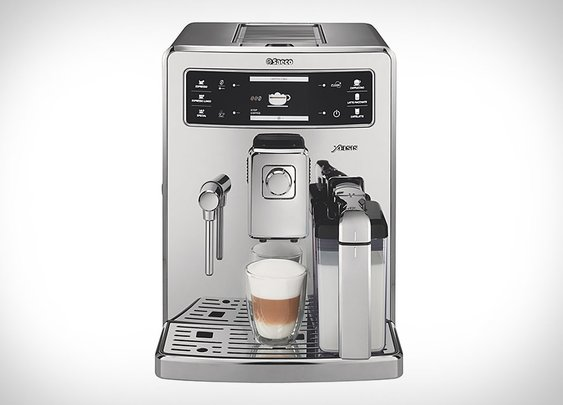 Philips Saeco Xelsis Fingerprint ID Espresso Machine | Uncrate