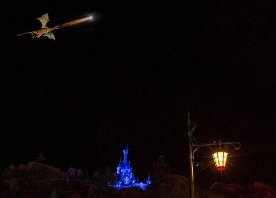 Disney World celebrates new  flying dragon...Walt would be proud.