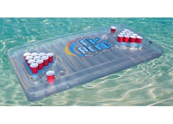 Amazon.com: The Air Pong Table - The Portable, Inflatable Beer Pong Table: Sports & Outdoors