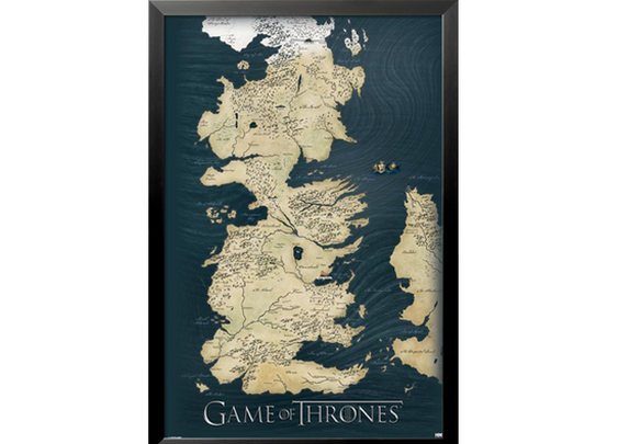 Game of Thrones Map