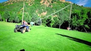 The Human Slingshot - YouTube