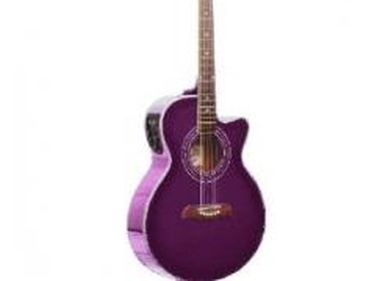 Purple Guitars!