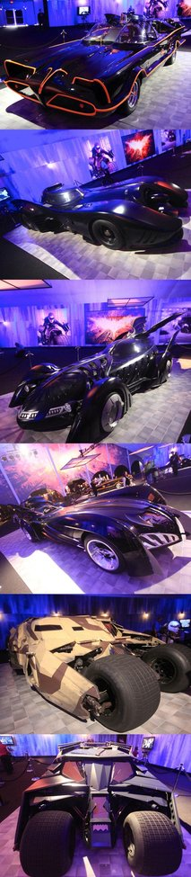 All of the Movie and TV Batmobiles