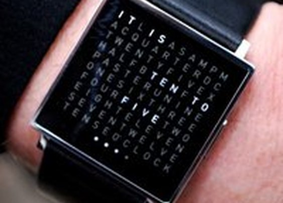 Qlocktwo Watch by Biegert & Funk