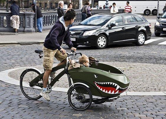 trioBike Cargo Bike — The Man's Man