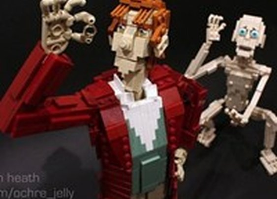 Hobbit LEGOs WIN - Cheezburger