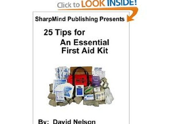 Free Kindle Book - 25 Tips for An Essential First Aid Kit
