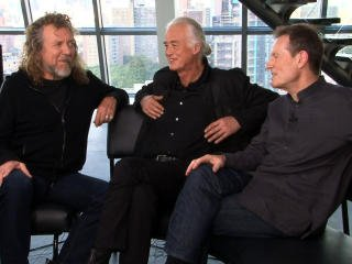 Web Excl.: Led Zeppelin address reunion questions - CBS News Video