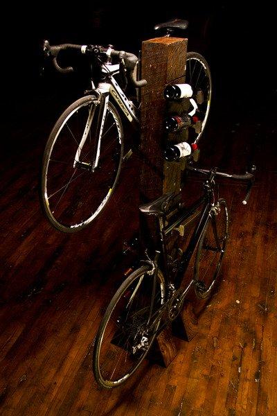 Vino Velo - Bike and Wine Rack || Rail Yard Studios
